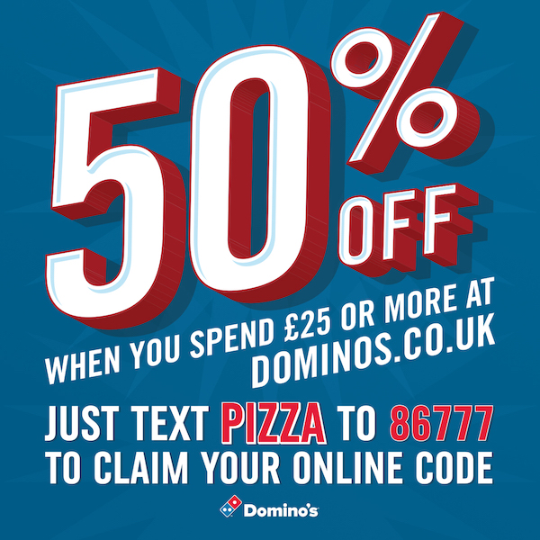 Students can enjoy 25% off their order with their NUS student code, or 35% off a £25 spend when they register with StudentBeans. Although these deals have been around for a while, Domino's likes to use a