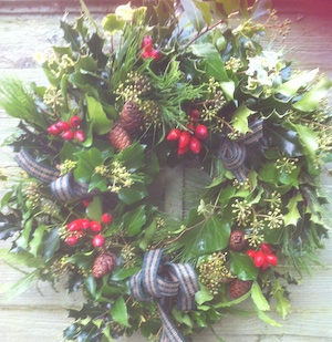 Traditional Christmas Wreath Making with Sarah Pepper