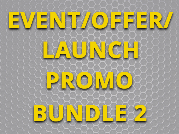 Event/Offer/Launch promo - Bundle 2