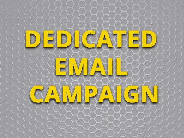 Dedicated Email Campaign