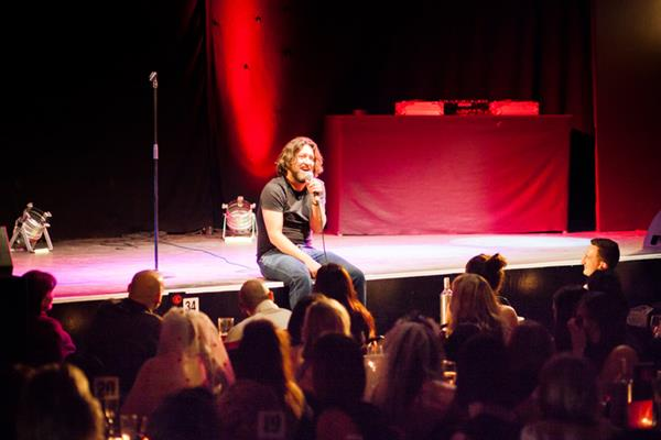 Win a Meal Deal for 2 & Tickets to Krater Comedy Club