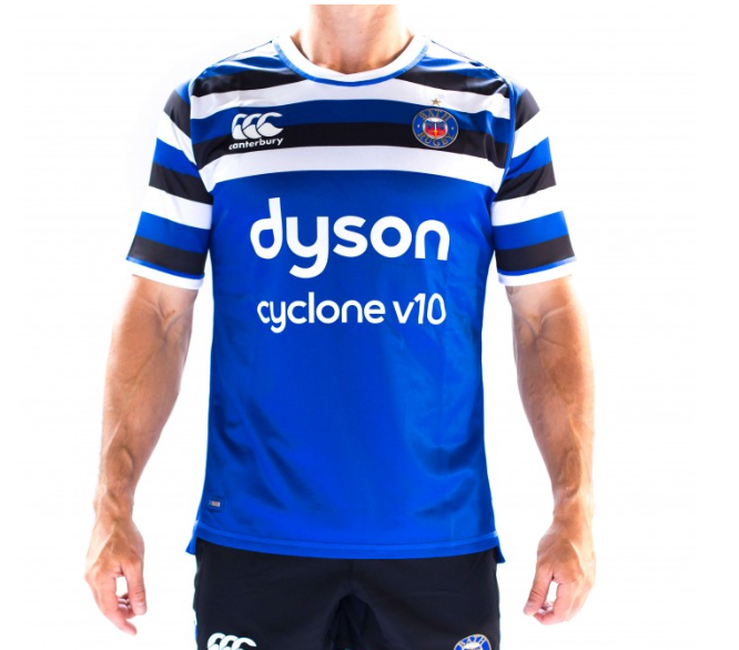 Win a Bath Rugby Home Shirt