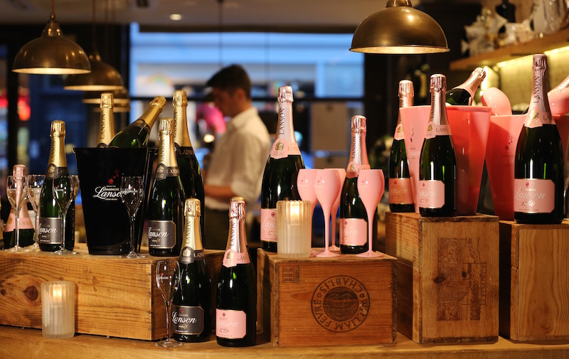 National Champagne Week at The Roman Baths Kitchen