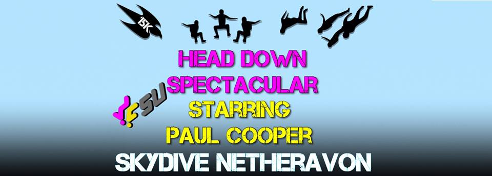 Paul Cooper Head Down Freefly Spectacular