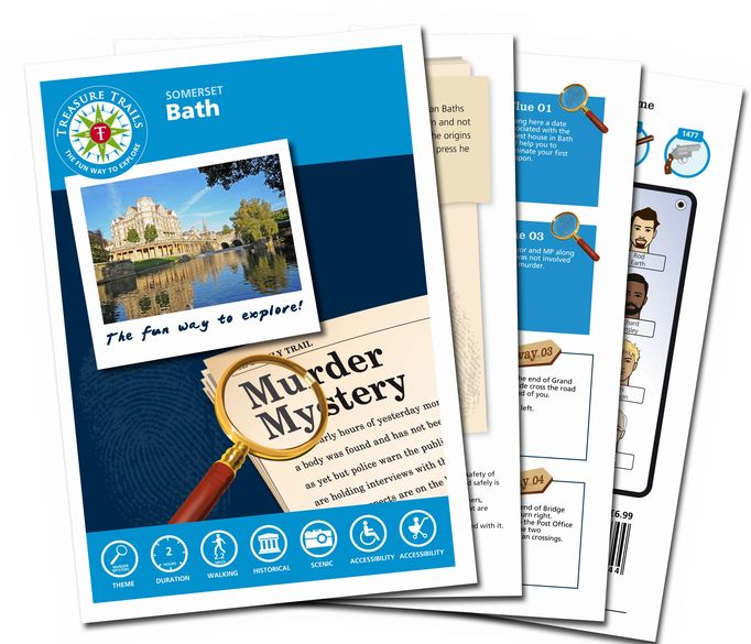 Bath Murder Mystery Treasure Trail