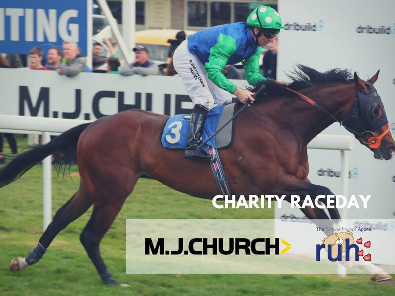 MJ Church Raceday Supporting Forever Friends