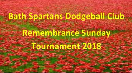 Remembrance Sunday Dodgeball Tournament 2018