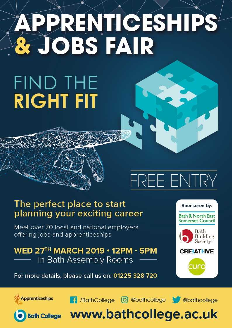 Bath College Apprenticeships and Jobs Fair