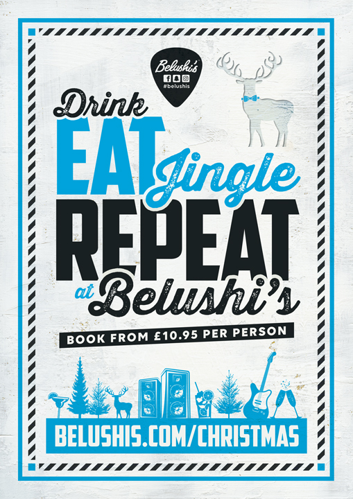 The Best Christmas Parties in Bath at Belushi's