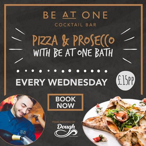Pizza & Prosecco Wednesday | Be At One Bath