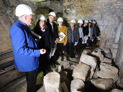 The Roman Baths Above and Below Tour