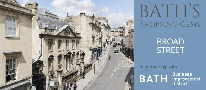 Broad Street, Shopping in Bath | Total Bath