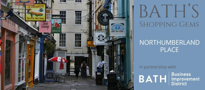 Northumberland Place, Shopping in Bath, Bath's Hidden Gems | Total Bath