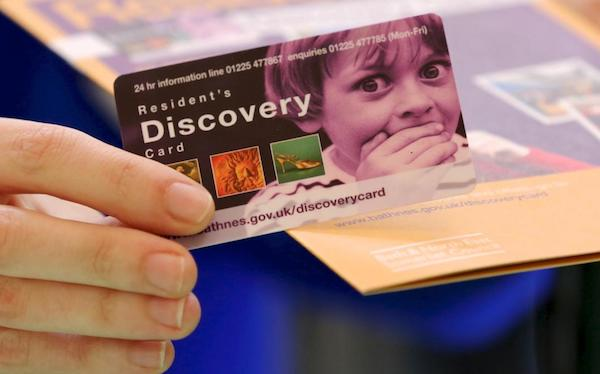 Resident's Discovery Card