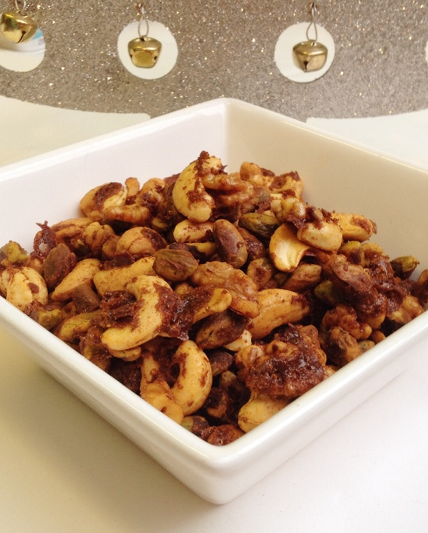 Recipe: Spiced nuts