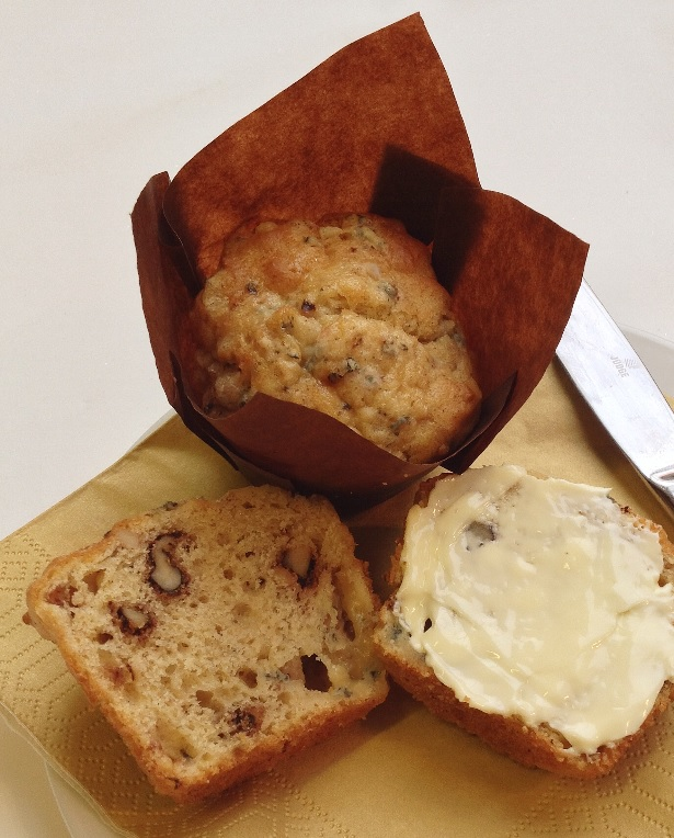Recipe: Stilton & Walnut Muffins