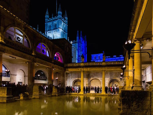 Black-Tie Christmas Parties at The Roman Baths