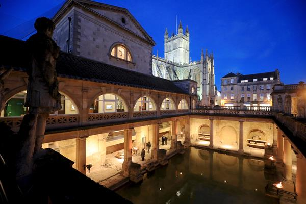 Torchlit Summer Evenings at the Roman Baths Attract Record Visitor Numbers