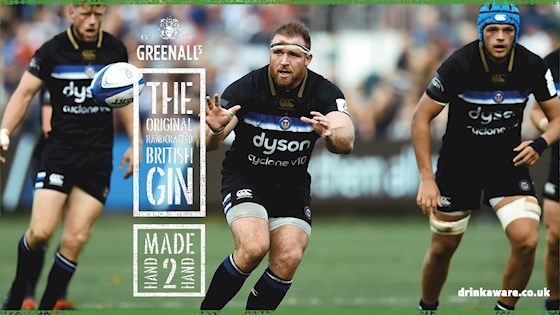 GREENALL'S GIN AND BATH RUGBY SIGN PARTNERSHIP DEAL