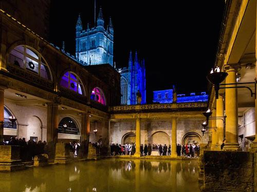 Roman Baths Black Tie Christmas Party