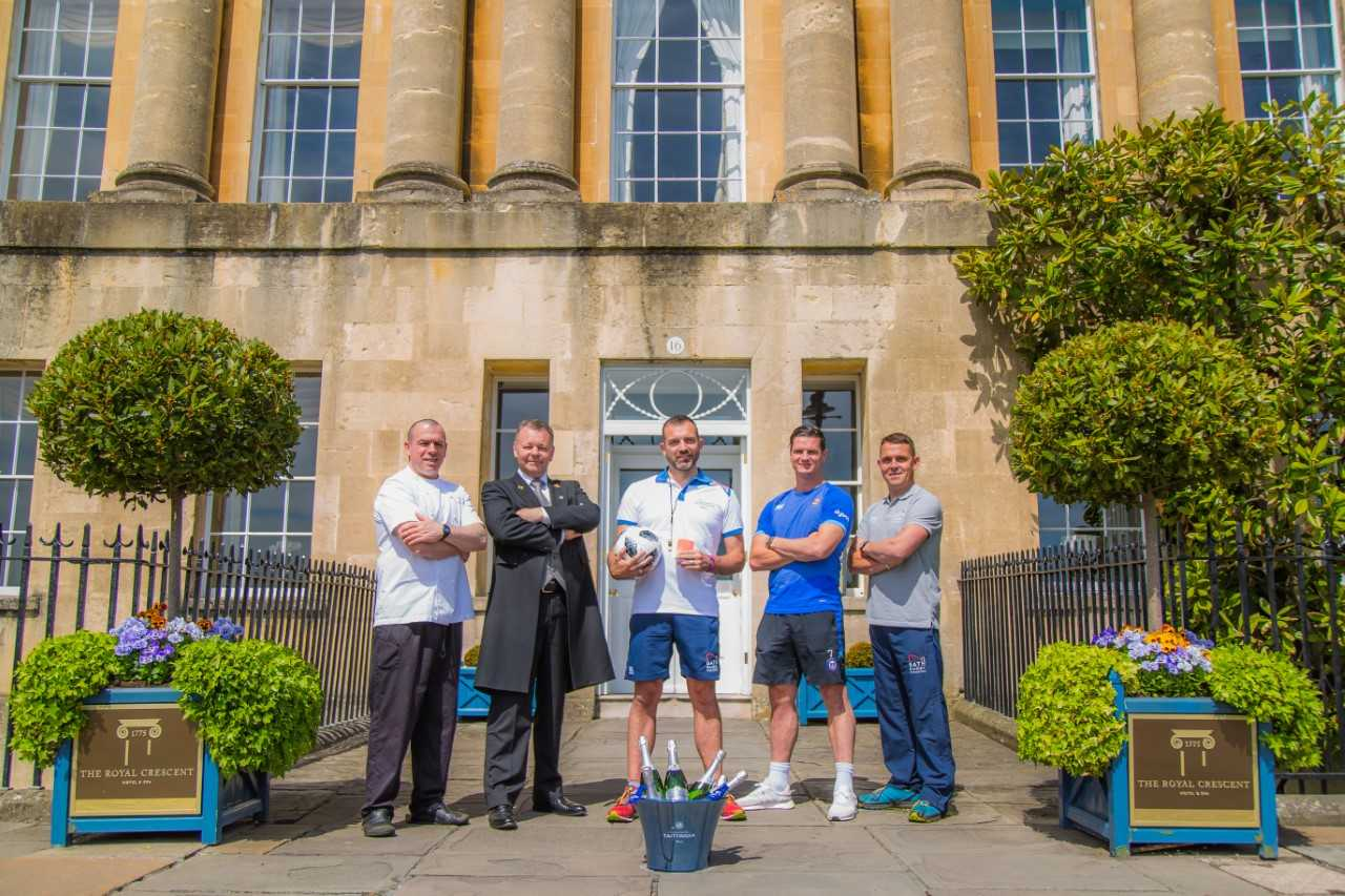Royal Crescent Hotel organise World Cup Babyfoot tournament to raise money for Bath Rugby Foundation