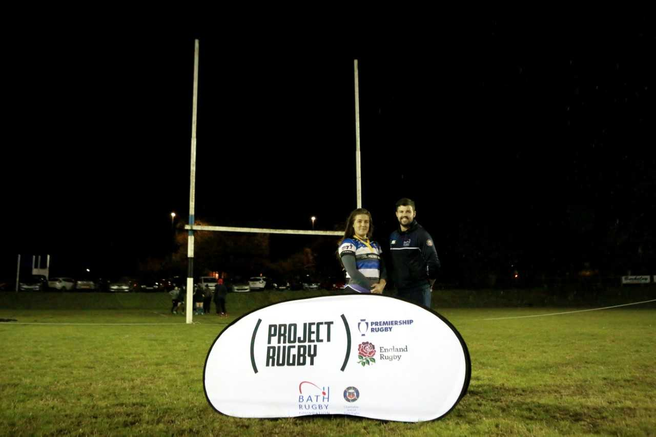 Bath Rugby Foundation and Bath Rugby Ladies Team Up to Offer a New Route into the Sport