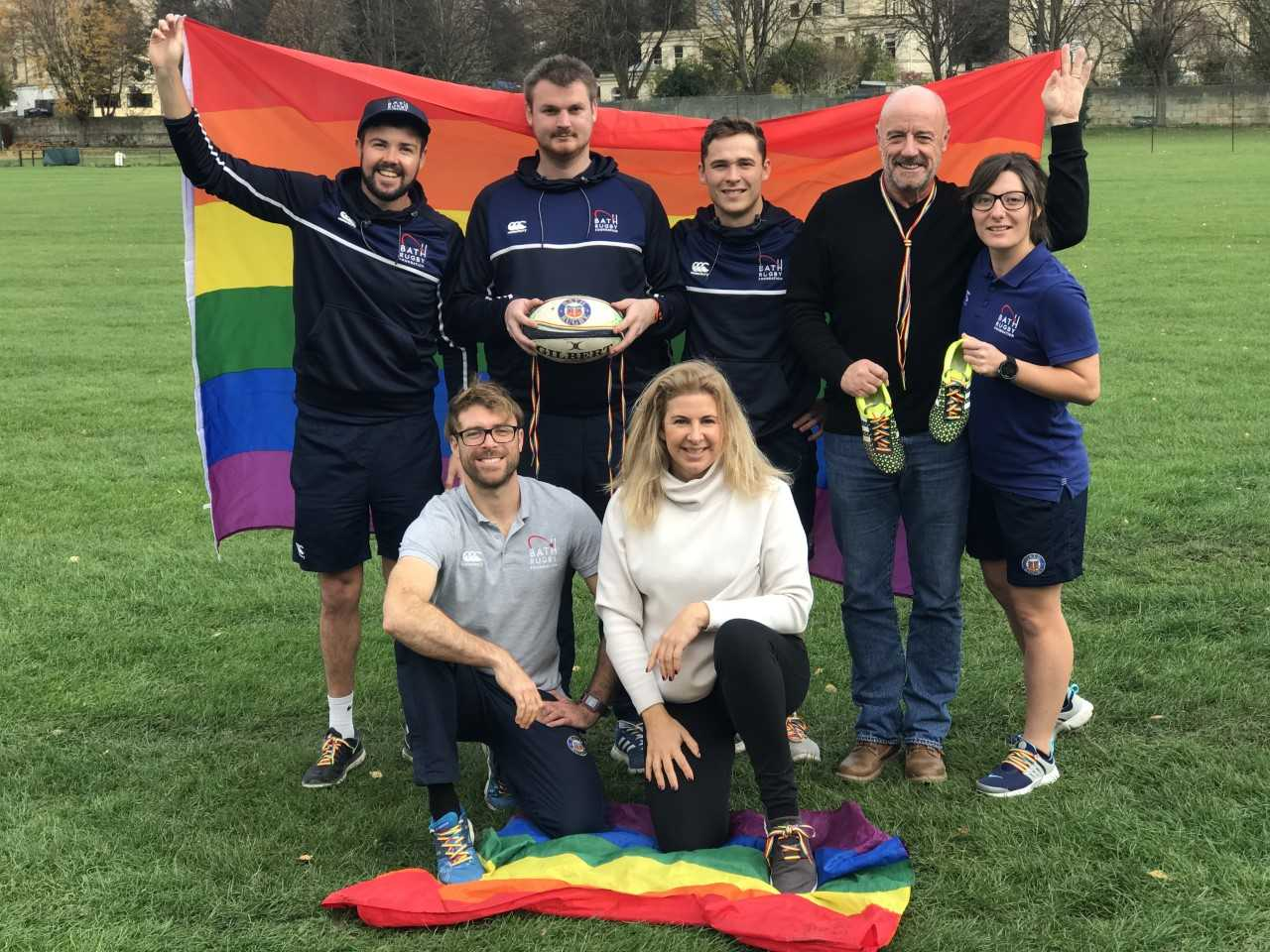 Bath Rugby Foundation: The Rainbow Laces campaign