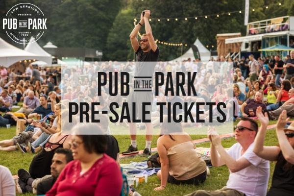 Pub in the Park 2019 Pre-Sale