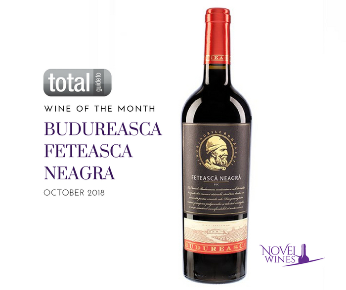 Wine of the Month: Budureasca Feteasca Neagra 2015