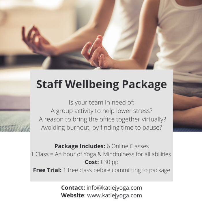 Staff Wellbeing Package
