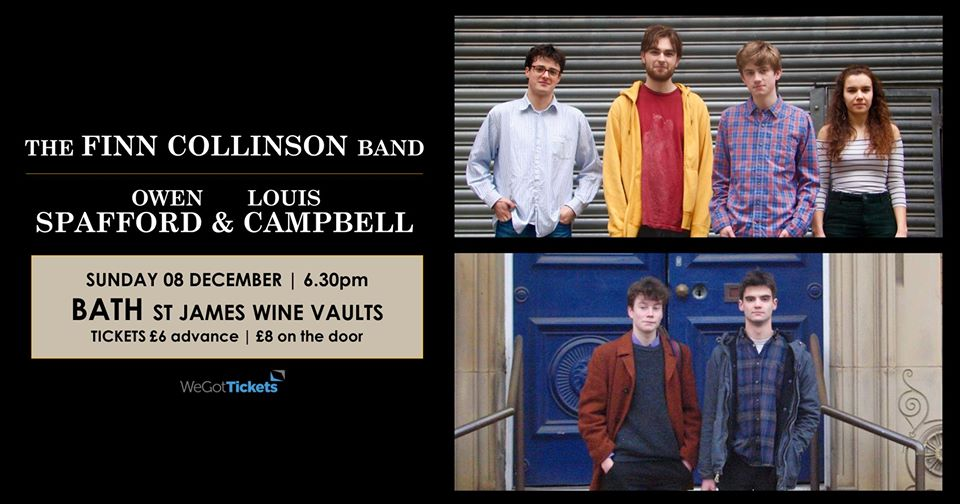The Finn Collinson Band // Owen Spafford & Louis Campbell
