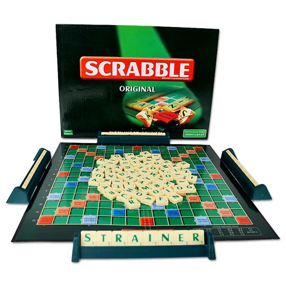THE BEST WORD GAME - SCRABBLE