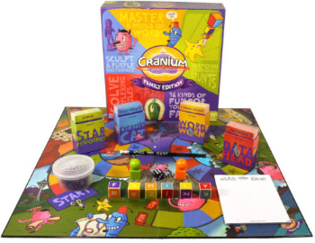 THE BEST BOARDGAME FOR ARTISTS - CRANIUM