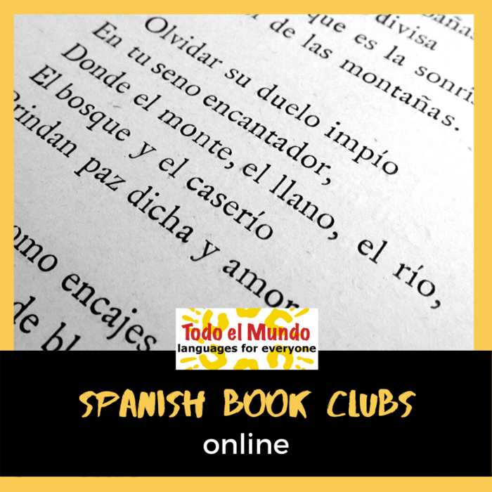 Online Spanish Book Club