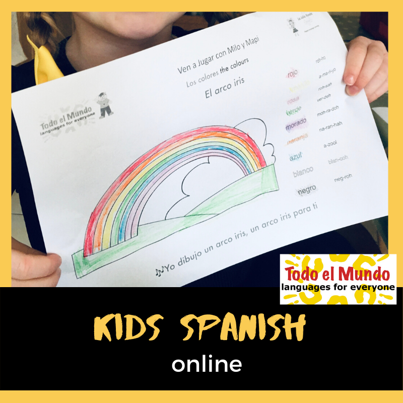 Kids Online Spanish Classes
