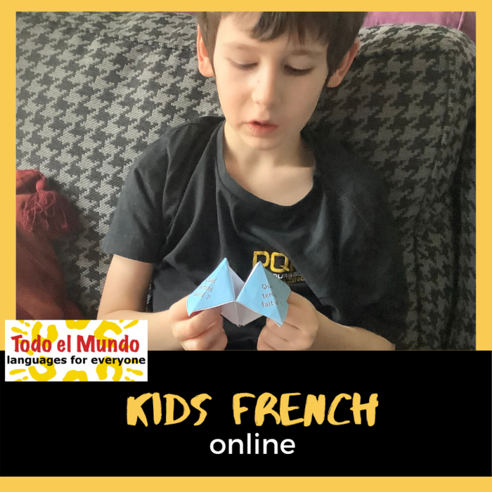 Kids online French classes