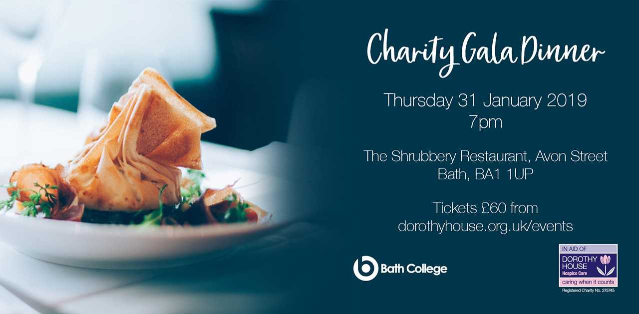 Top local chefs support Bath College students at Charity Gala Dinner in aid of Dorothy House