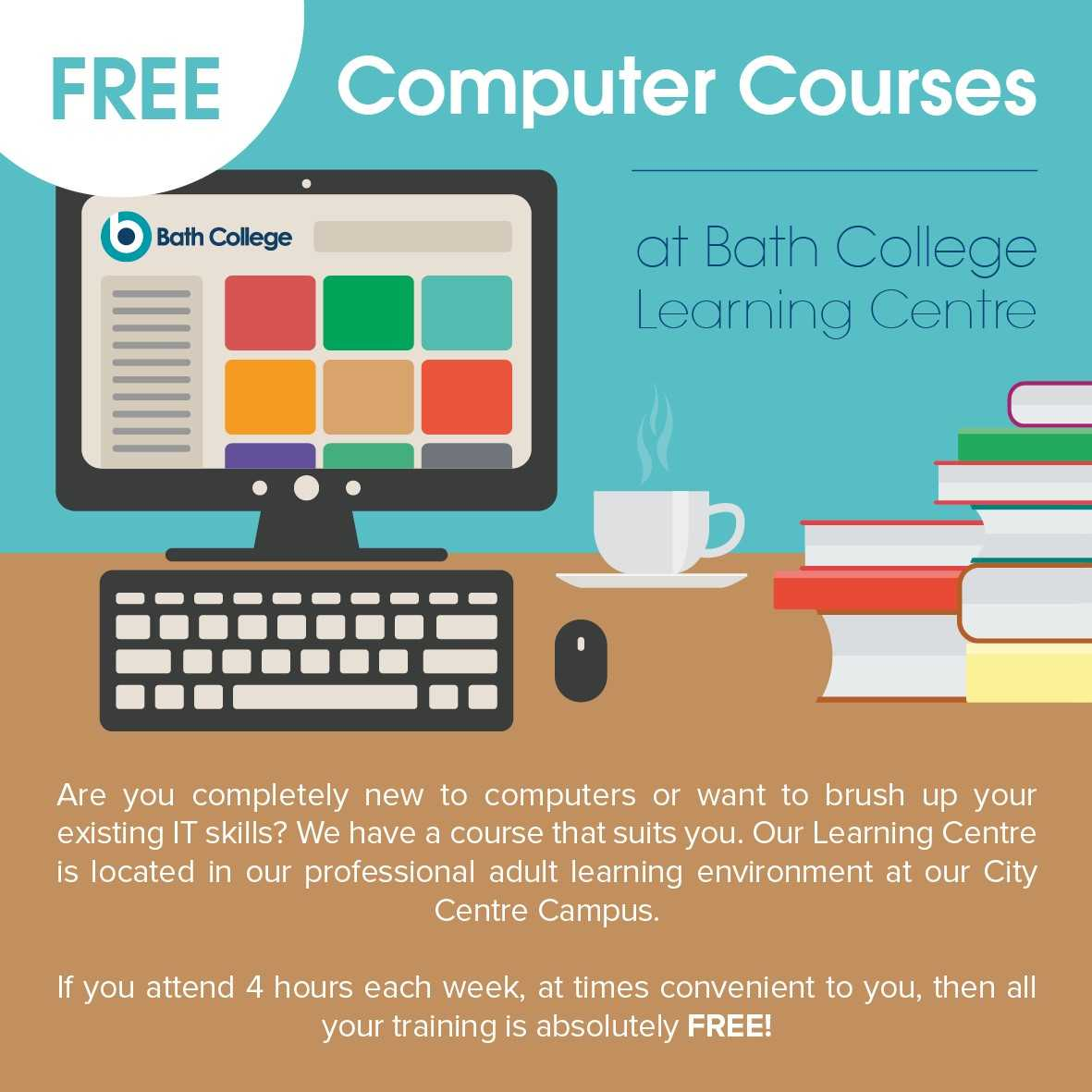 Bath College launch series of free courses to help the community