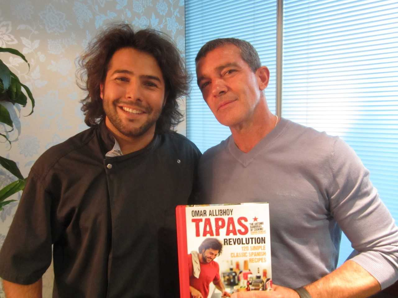 New Hollywood film Life Itself starring Antonio Banderas teams up with Spanish Chef Omar Allibhoy & Tapas Revolution for Paella Month in January