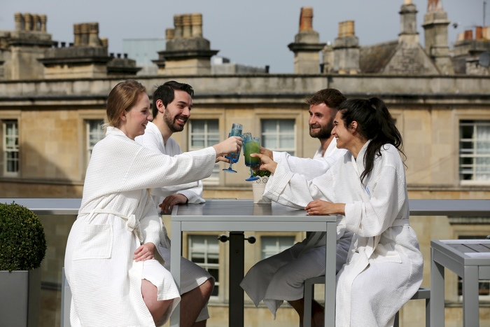 Thermae Bath Spa Celebrates Summer with New Terrace Bar