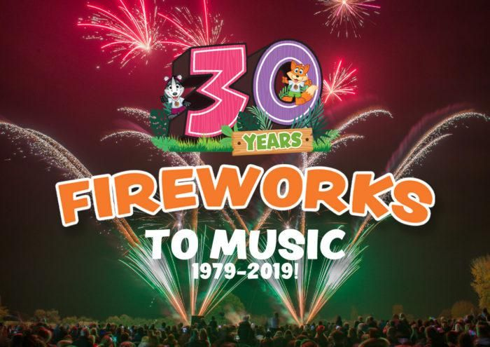 Fireworks to Music at Avon Valley Park