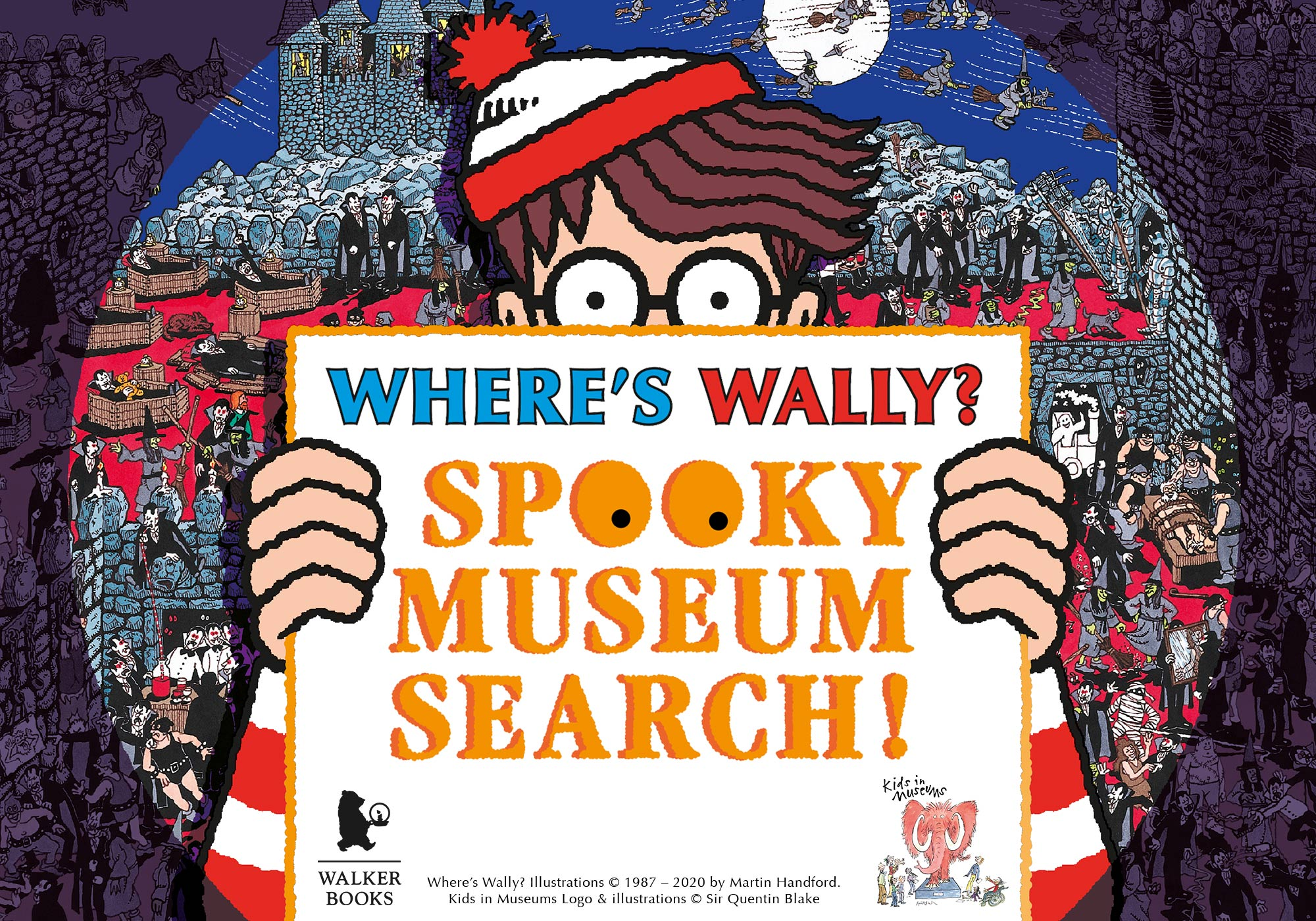 Where's Wally? Spooky Museum Search at Roman Baths
