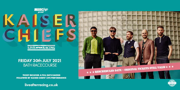 Kaiser Chiefs at Bath Racecourse