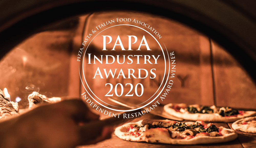 Move over doom and gloom of 2020, hello Independent Pizza Restaurant of the Year  platinum award