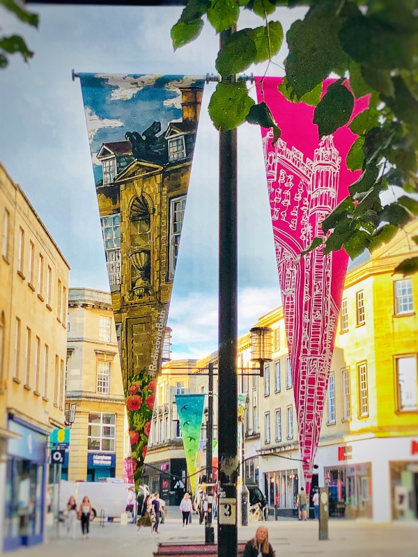 BATH BID FILLS THE STREETS WITH ARTWORK FOLLOWING CITYWIDE COMPETITION