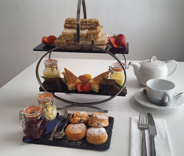 Tea for Two at Thermae