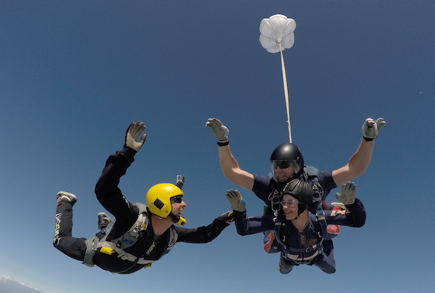 The Full Skydive Package