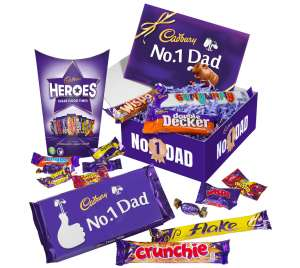 Save 10% on Cadbury's Gifts for Dad