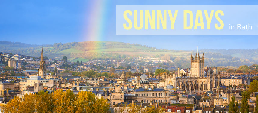 Total Guide to Sunny Days in Bath