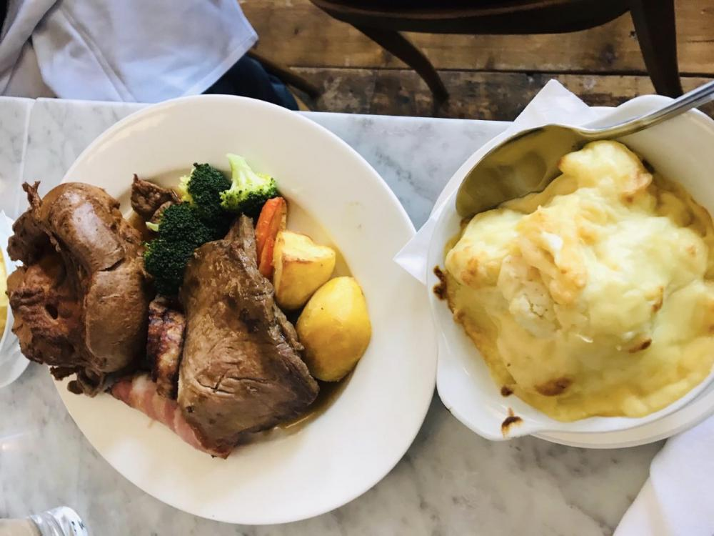 Abbey Hotel Kitchen Sunday Lunch Review